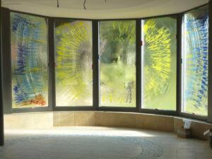 Beispiel 3, Glasmalerei